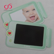 2018 OEM 4x6'' magnetic photo frames flexible fridge magnet photo frame baby girl