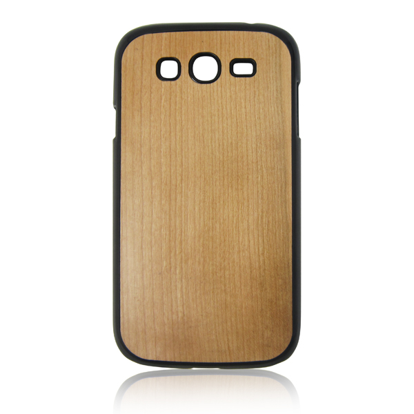 For Samsung I9300 Cherry Wood Mobile Phone Case , Wooden Cover For Samsung Galaxy s3