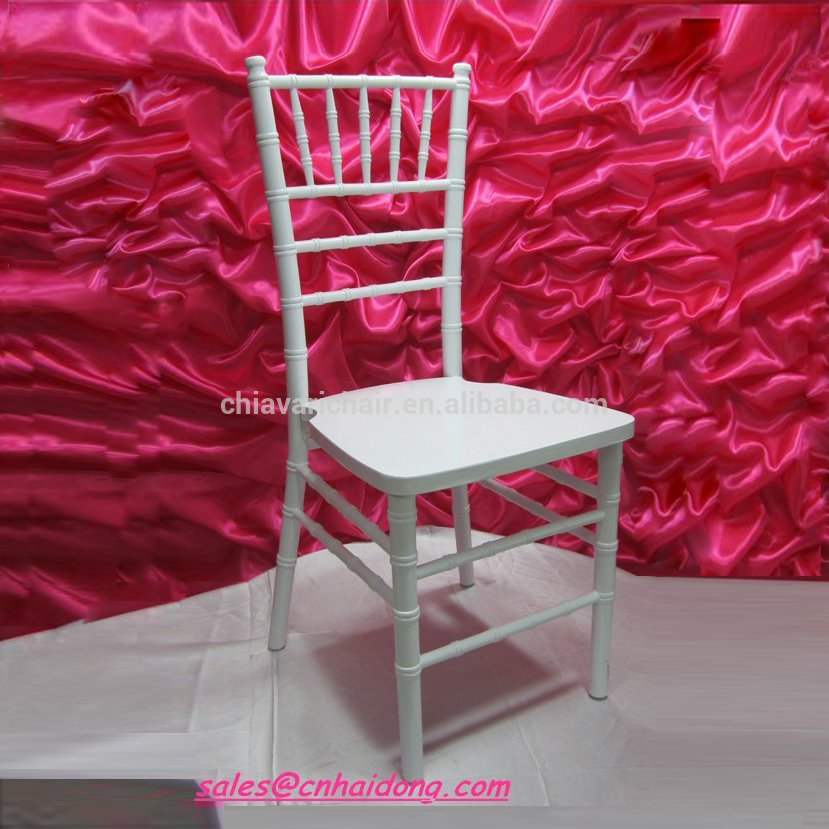 Cheap White Wood Rental Chiavari Dining <strong>Chairs</strong> for Wedding