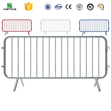 Roadway Traffic Crowd Control Barrier Construction Safety Barricades