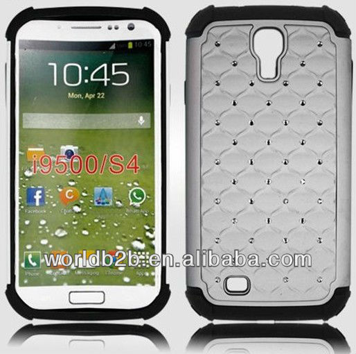 diamond case for samsung galaxy s4 19500, Crystal Diamond Hard + TPU