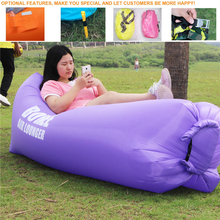 Hot Selling Outdoor Easy Inflatable Campings Sleeping Sofa Bag High Quality Waterproof Inflatable Garden comfy Sofa