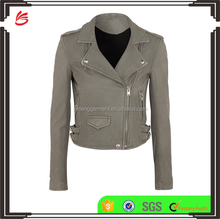 Custom Fashion Women Leather Jacket in Pakistan Sialkot