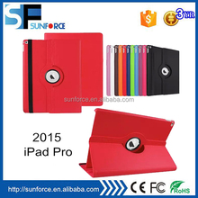 Smart 360 Rotate PU Leather Tab Cases For Apple Ipad Pro 12.9 inch Tablet cover Factory Price