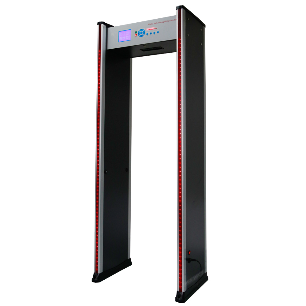 6 Zones Walk through arched metal detector for sales