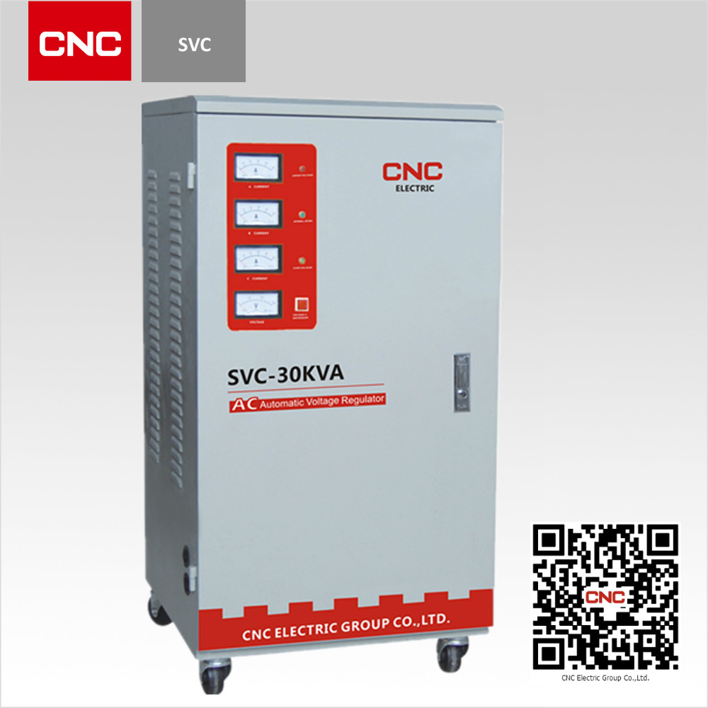 High Efficiency SVC 3 Phase 15kva automatic voltage stabilizer