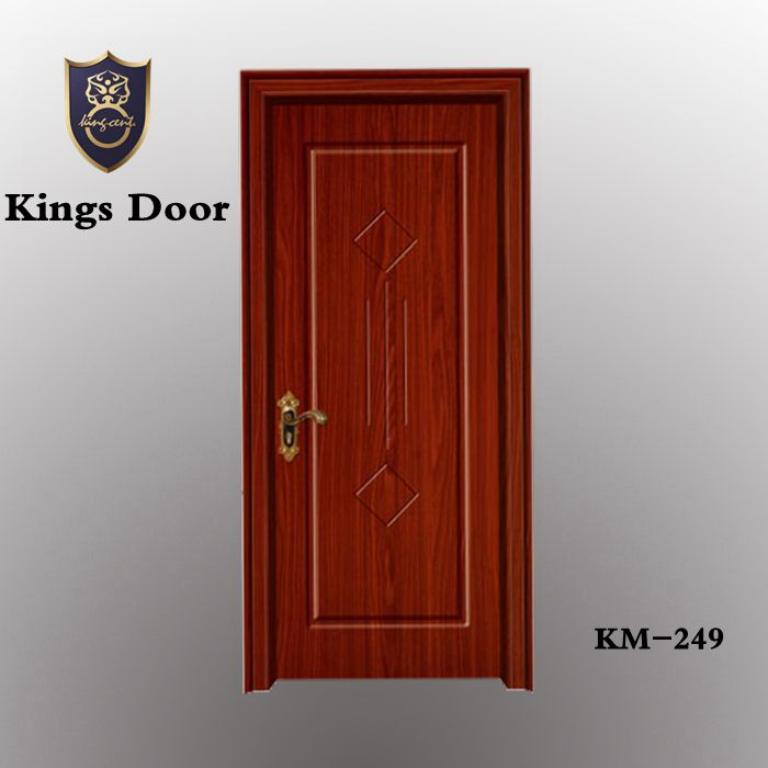 Preferential prices bedroom insulated interior pvc plastic wood doors