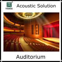 Acoustic solution sound insulation material for auditorium
