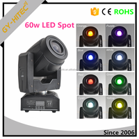 Professional led moving head light 60W spot moving head