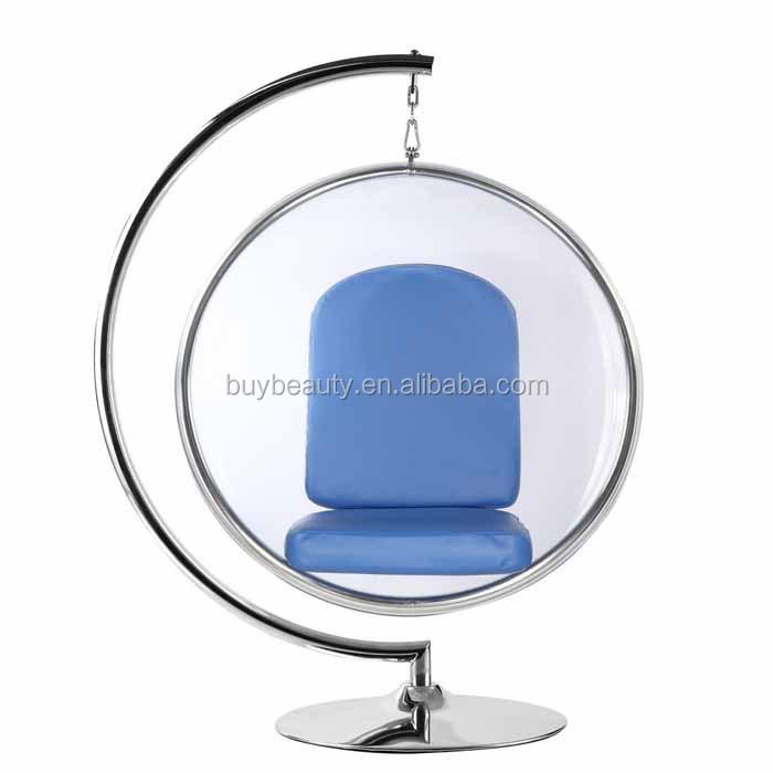 eero aarnio clear acrylic standing bubble chair