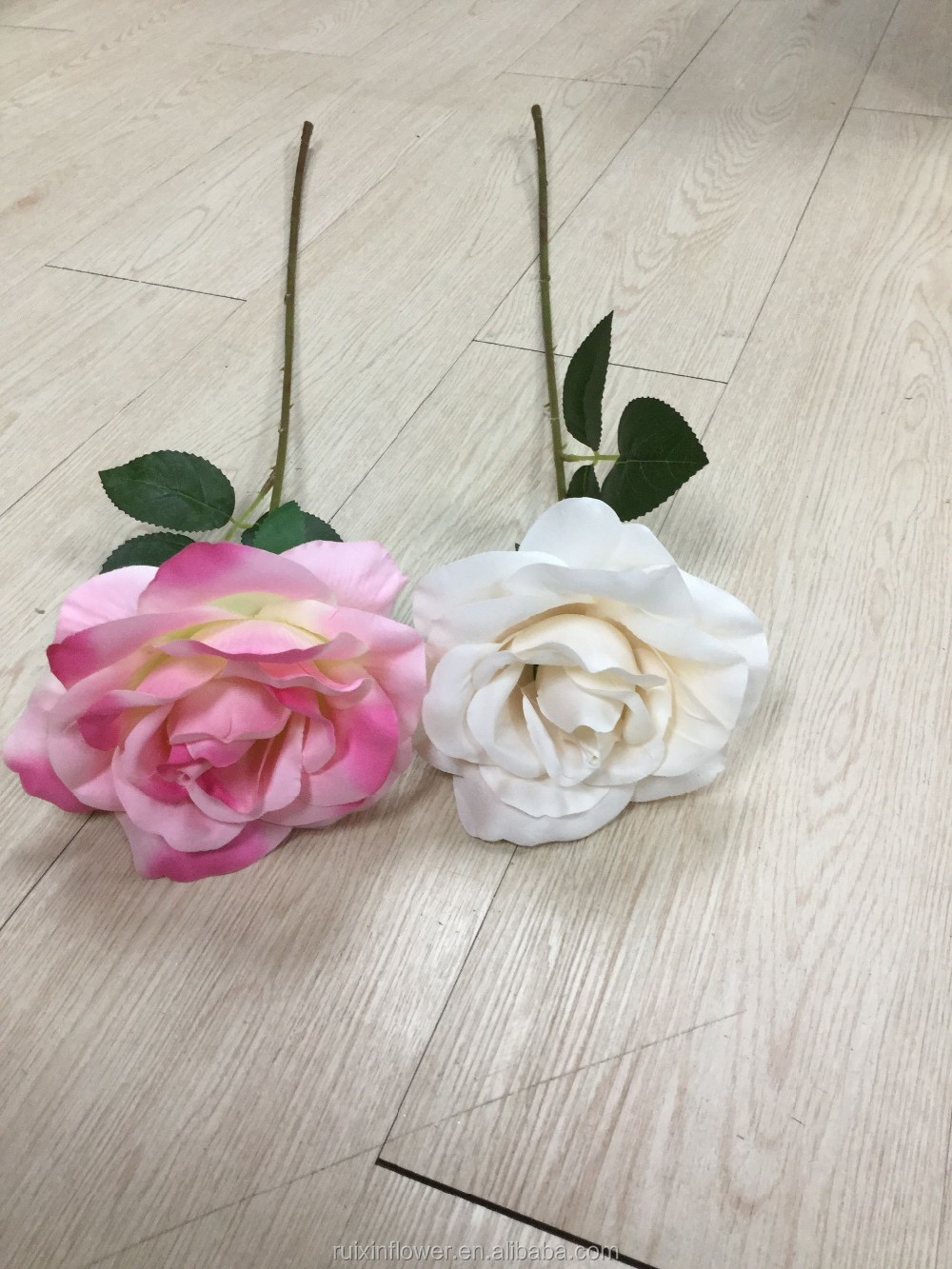 artificial flower single stem rose high quality silk flowers