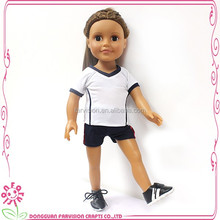 New design custom pretty american girl doll toy 18 inch child doll