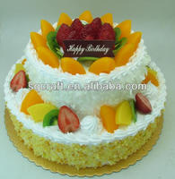 Artificial birthday cake model for shop sample displayRealistic birthday cake