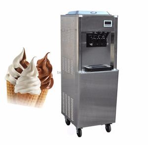 commercial soft serve ice cream making machine