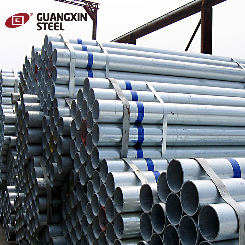 2017 china supplier build materials galvanized steel pipe price