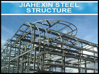 New Design Durable Arched Roof Construction Structure JHX-SS1021-T