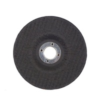 Abrasive steel cutting wheel and cutting disc for wood