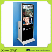 42 inch floor stand advertising player all in one interactive wechat used photo printer multi touch pc kiosk