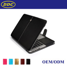 For Macbook Air PU Leather Shell, Case Cover for Laptop 13 inch