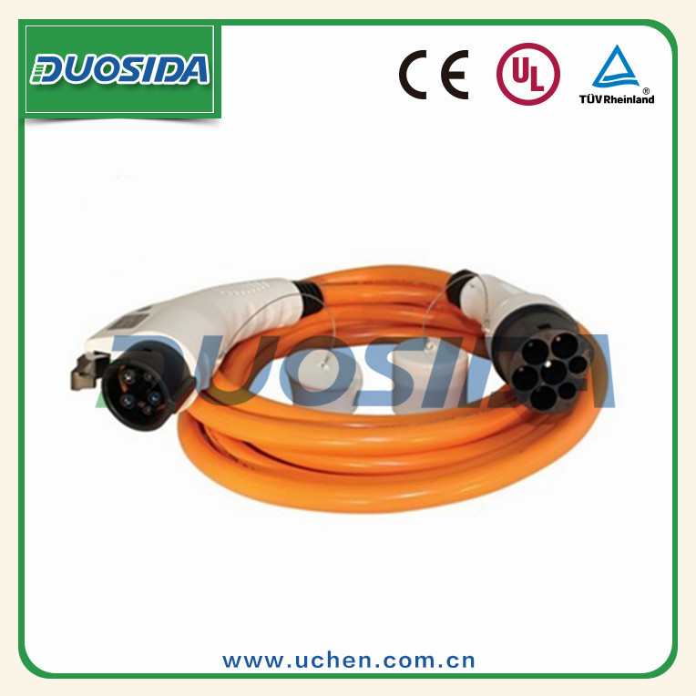 EV Electric Car Type 2 - Type 1 charging cable/ IEC 62196-2 Female connector