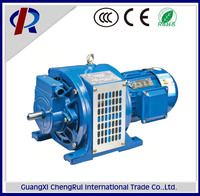 YCT series specifications of adjustable-speed induction motor