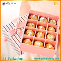 disposable silver foil box for food packaging Aluminum Foil Box for Chocolates