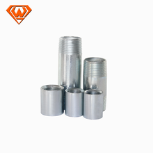 din 2817 stainless steel male & female threaded coupling