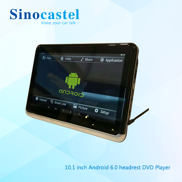 10.1 Inch HD IPS Touch Screen Android 6.0 Universal Car DVD Player Headrest