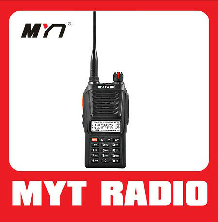 good performance best price handy dual band intercom dual display with High sensitivity FM radio (MYT-UV100)