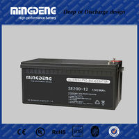 Maintenance Free solar battery 12v 180ah agm battery