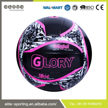 Standard Size Multi-color Rubber Bladder Volleyball