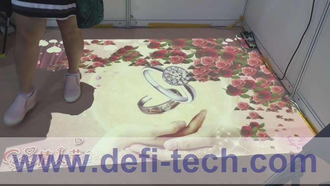 DEFI Interactive floor projection with 130 effects and necessary hardware free shipping