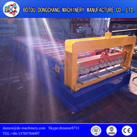 Fully automatic control cutting color tile steel corrugated iron sheet roofing tile roll forming machine