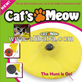 As Seen on TV Cat`s Meow -New Digital Undercover Mouse Interactive Electronic Cat Toy Fun