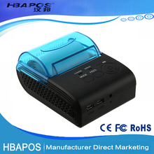 Portable Mobile Bluetooth Thermal Printer USB Receipt POS Bill Termal Printer mini Barcode Ticket Printer HBA-5805