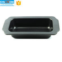 Carbon Steel Non stick Bread Baking Pan With The Silicone Handle