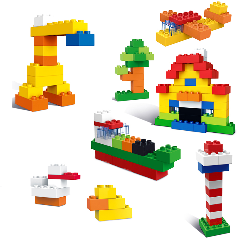 Hotsale !! My First Bricks Building Play Set Game Toy For Kids Children 80pcs for one set