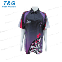 Design your own 2016 great women sublimated polo wear