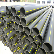 half round irrigation pipe used pe water pipe