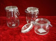 glass canister,glass food storage jar,glassware