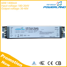 60W 1400mA Constant Current Led Driver with CE TUV Certificate