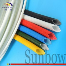 UL Qualified Insulation Protective Silicon Fiber Glass Insulated Tube Sleeving for Electric Motor Winding