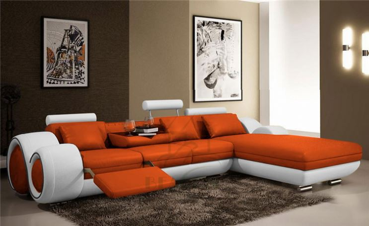 7 Seater L Shape Smart Sofa Set Cum Bed