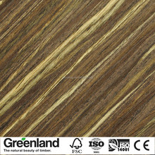 2017 New design engineered ebony wood veneer adhesive veneer for slaes