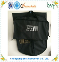 polyester garment bag suit bag foldable