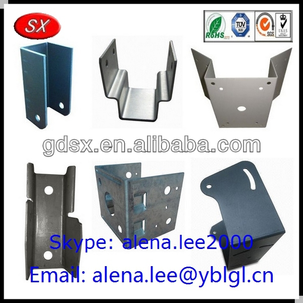 Custom stainless steel galvanized wall mount bracket for air conditioner countertops ISO9001 passed