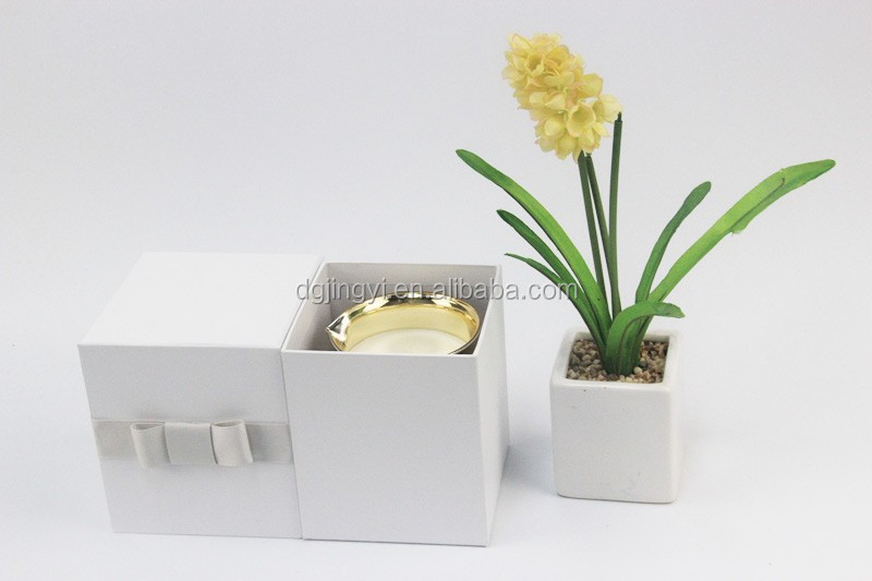Colorful luxury design square paper gift single candle bottom packaging box