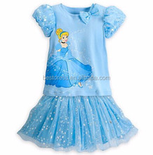 Summer New Child's Fairy Tale Girls Kids cinderella fancy dress for girls party costume