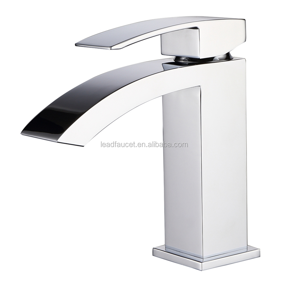 F3019001 Newest Design Waterfall Basin Faucet with Shower Hoses, Mixer Wash Sink Faucet