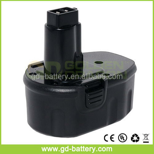 Replacement DeWalt 14.4V power tool battery DE 9091, DW 9091, DW9091